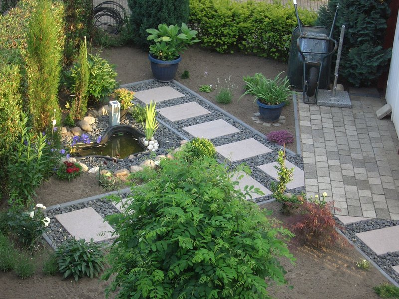 vorgarten gestalten reihenhaus – rekem, Garten und Bauen