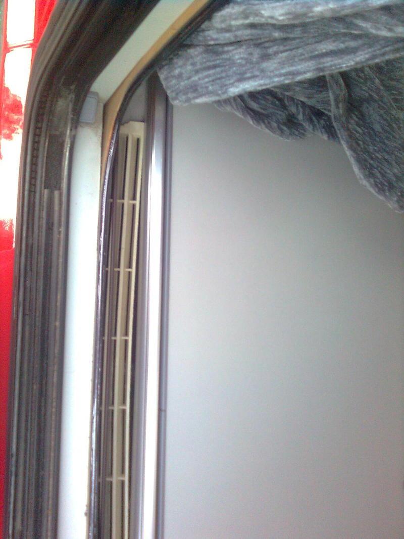 Kühlschrankentlüftung -