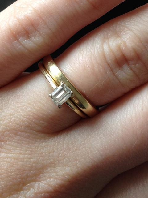 Zeigt Mir Eure Verlobungsringe Wurde Mich Sehr Feruen
