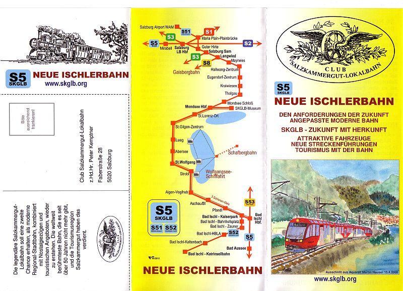 Neue Ischlerbahn: Ein ehrgeiziges Projekt 10993207mq