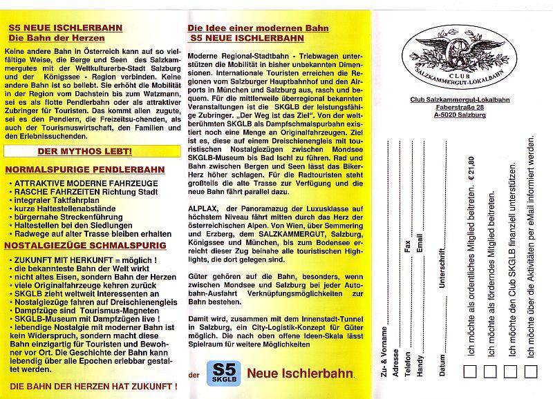 Neue Ischlerbahn: Ein ehrgeiziges Projekt 10993209ko