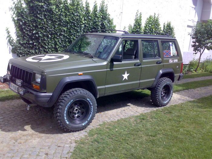 XJ to make it more like a Military Style. - JeepForum.com