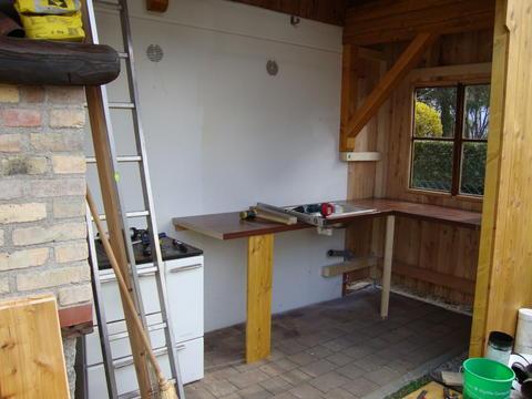Sommerküche Genehmigung : Outdoor küche genehmigung: küche bauen lassen spritzschutz küche