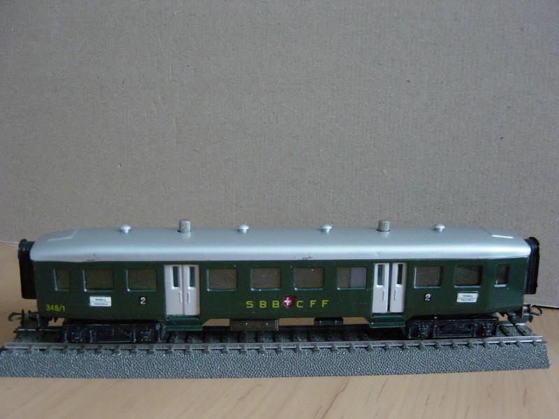 SBB-Leichtschnellzugwagen (Art.Nr. 348/1) 11151679ii