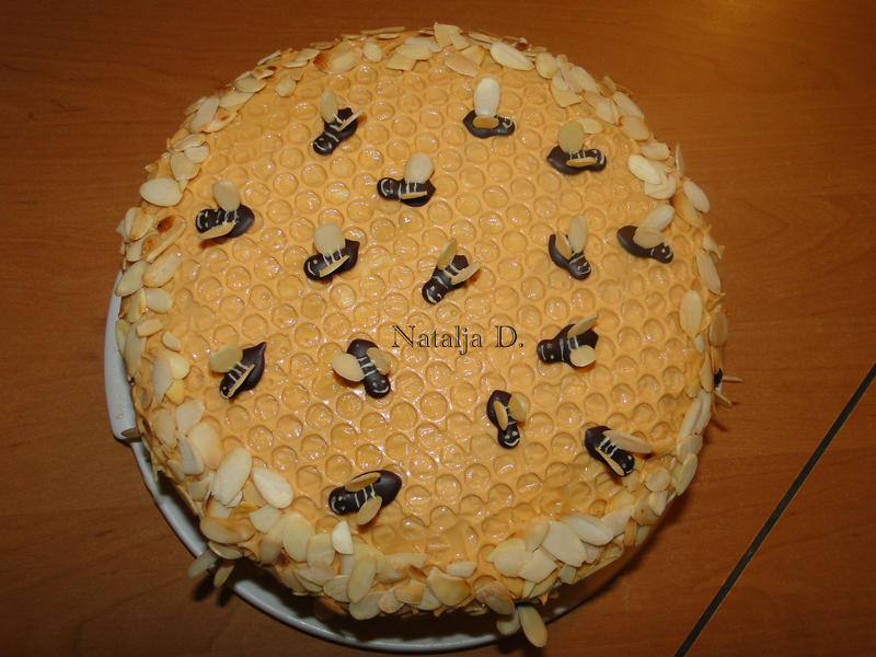 Рецепт торта пчелка в домашних условиях с  398