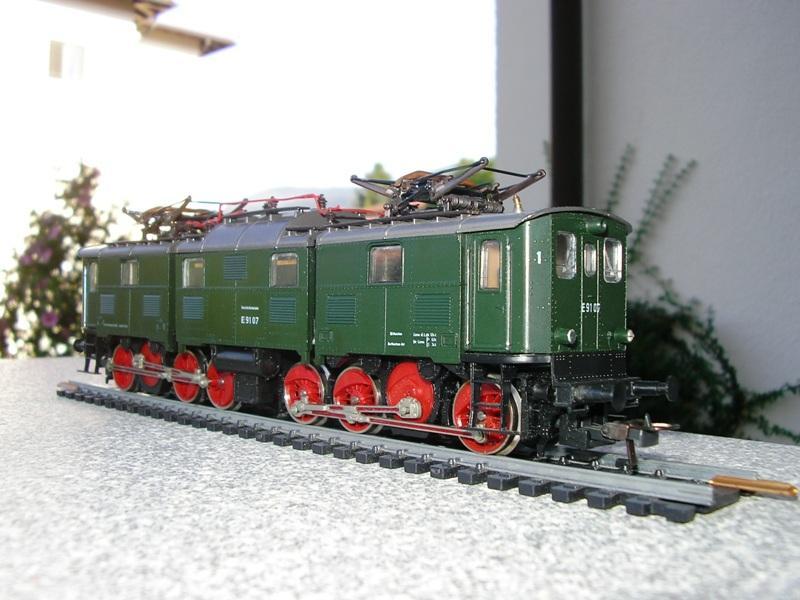 """DB E91 - ein """"Roco-Urgestein"""" 11286380lm"""