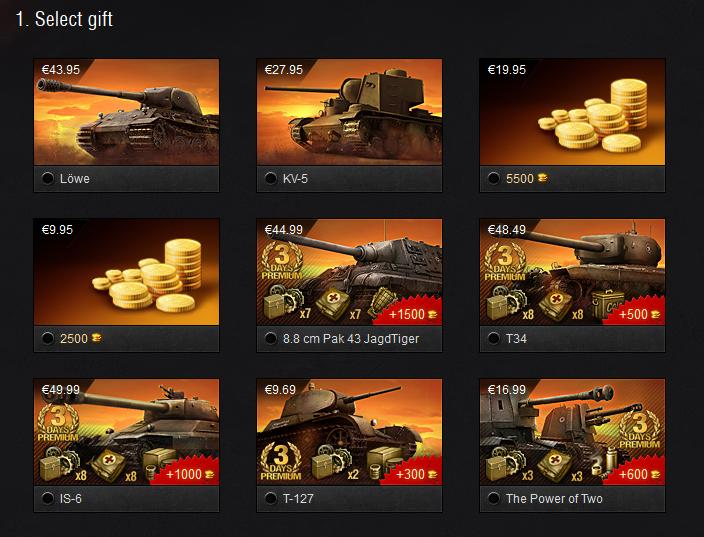 Special Offers in the Gift Shop! - Announcements - World of Tanks ...