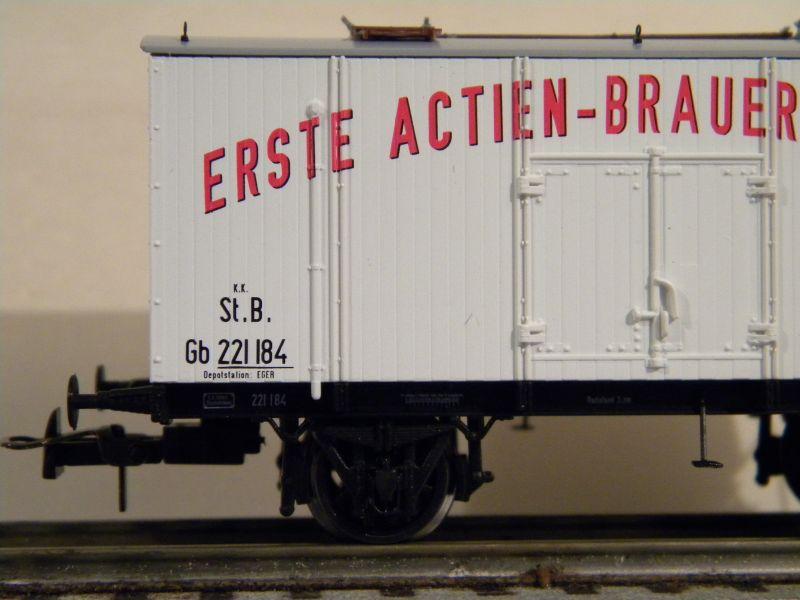 Serie KkMB - kkStB Epoche I - Bierwagen 11387797fy