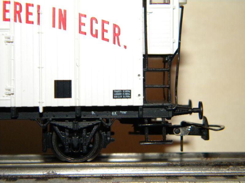 Serie KkMB - kkStB Epoche I - Bierwagen 11387801fr
