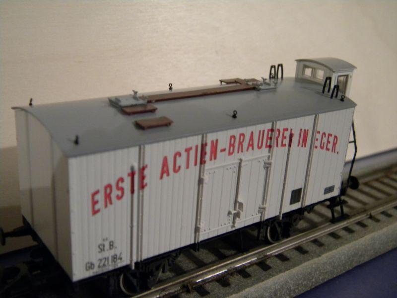 Serie KkMB - kkStB Epoche I - Bierwagen 11387802fc