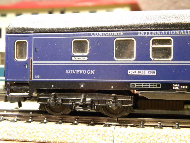 Schlafwagen CIWL, blau; Märklin-Nr. 4029 11519441cc