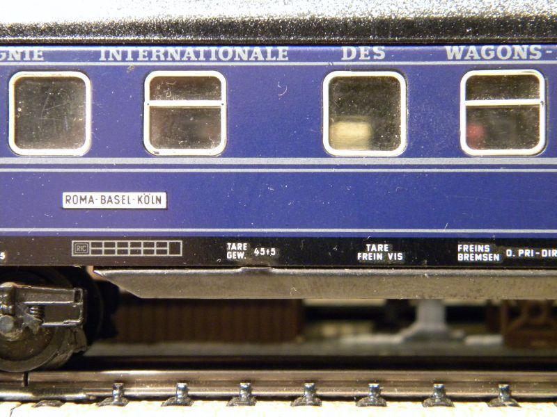 Schlafwagen CIWL, blau; Märklin-Nr. 4029 11519442es