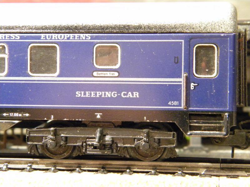 Schlafwagen CIWL, blau; Märklin-Nr. 4029 11519445ft