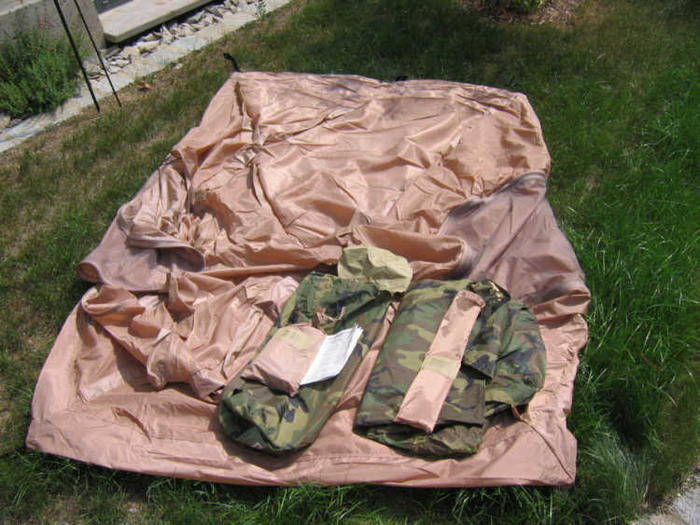 USMC combat tent & USMC combat tent - MREInfo.com