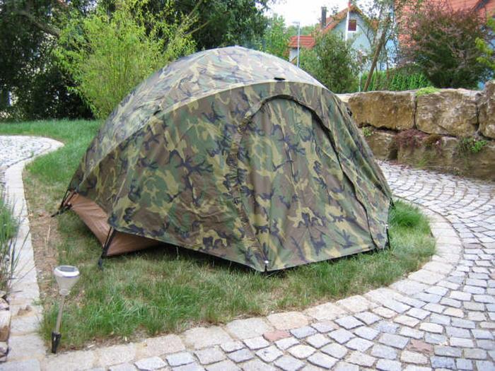 Image & USMC combat tent - MREInfo.com