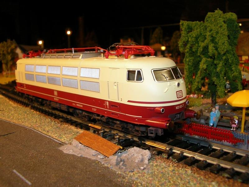 DB 103 118 - 6, Die schnellste Lok der Deutschen Bundesbahn 11674543rl