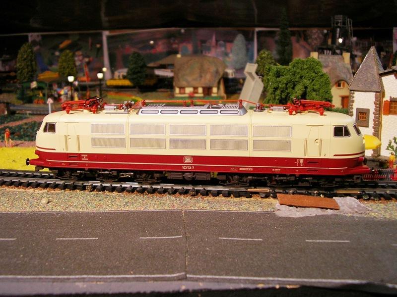 DB 103 118 - 6, Die schnellste Lok der Deutschen Bundesbahn 11674544ug