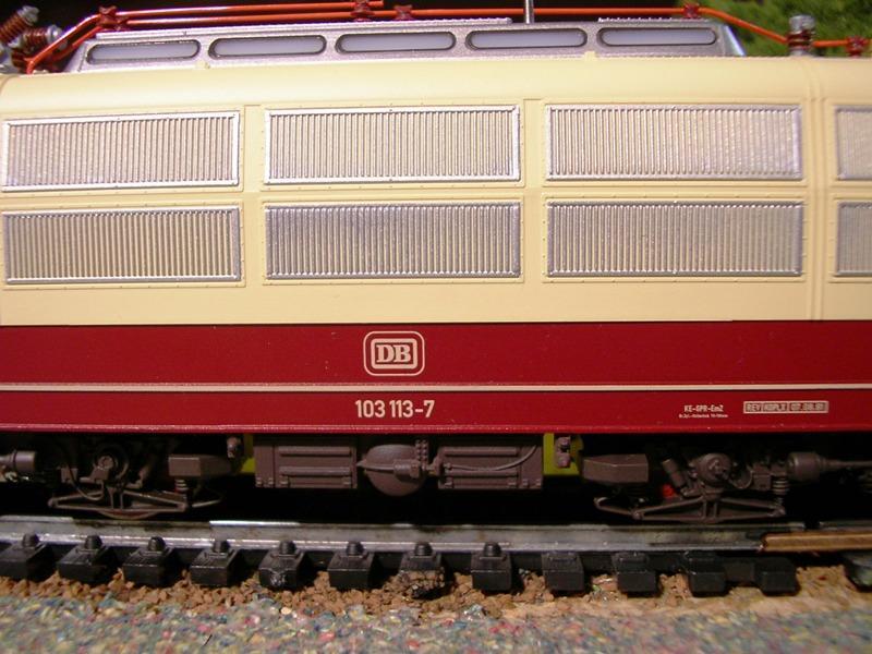 DB 103 118 - 6, Die schnellste Lok der Deutschen Bundesbahn 11674545ol