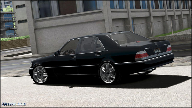 Released Norby931 Mercedes Benz 600sel Amg W140 Ver 3