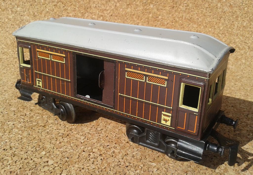 Distler Gepäckwagen Spur 0 , 4 Achsen 11690117xi