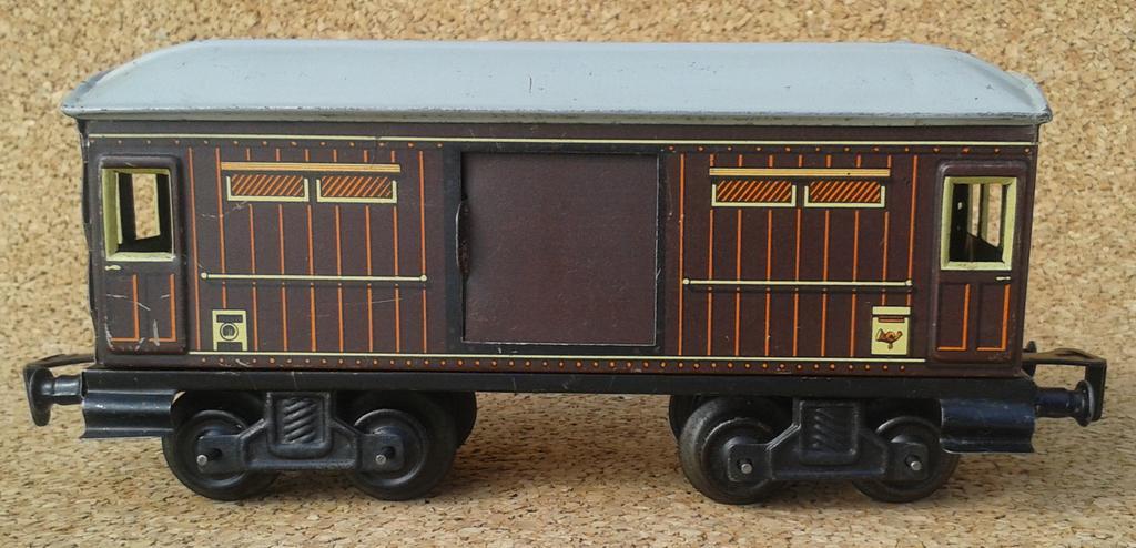 Distler Gepäckwagen Spur 0 , 4 Achsen 11690120tl