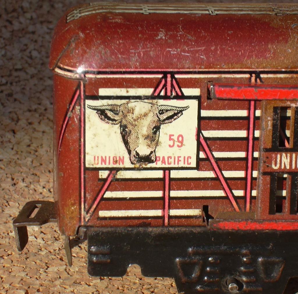 aus den USA  Marx Viehwagen Spur 0 11727499vh