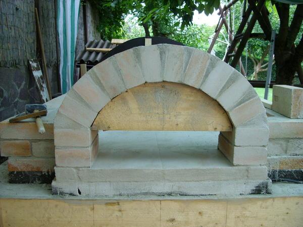 pin brotbackofen pizzaofen bauen on pinterest. Black Bedroom Furniture Sets. Home Design Ideas