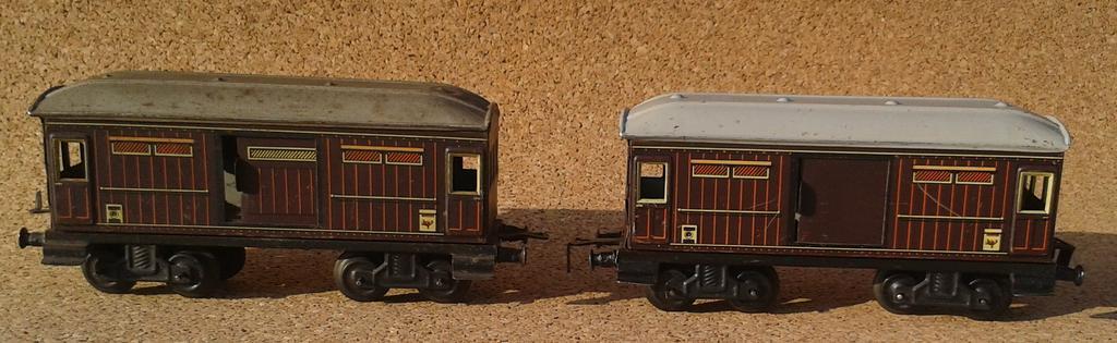Distler Gepäckwagen Spur 0 , 4 Achsen 11868234hg
