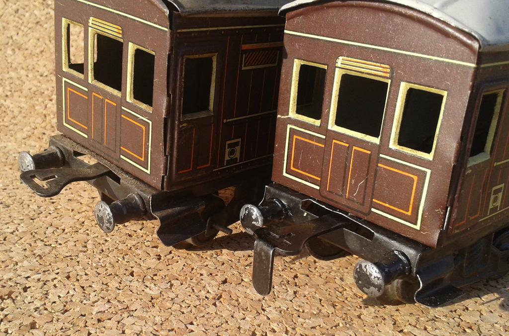 Distler Gepäckwagen Spur 0 , 4 Achsen 11868236op