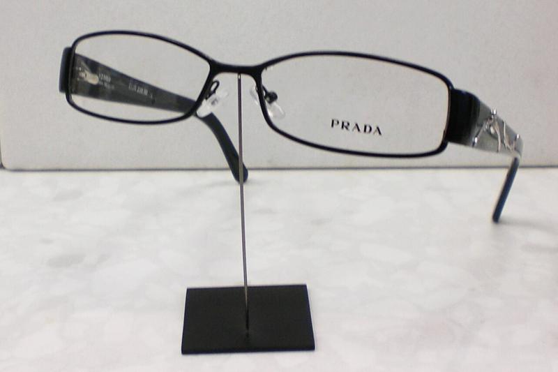 original prada brille brillenfassung vpr 58l farbe 1bo 101 schwarz ebay. Black Bedroom Furniture Sets. Home Design Ideas