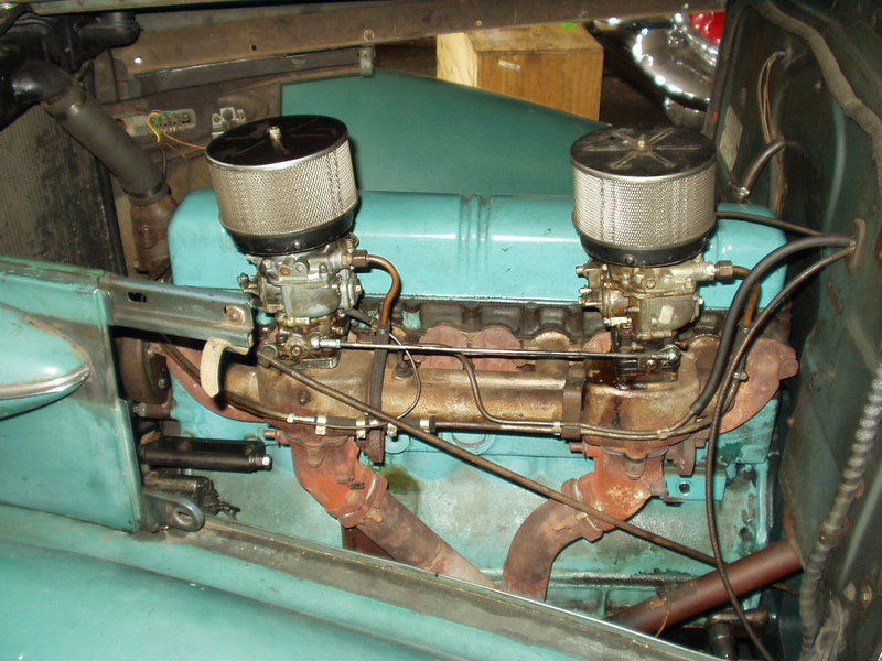 Removing 37 straight eight - Buick - Pre War - Antique Automobile
