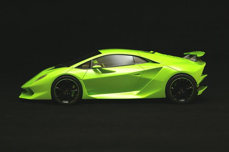 Lamborghini Sesto Elemento Neon Green
