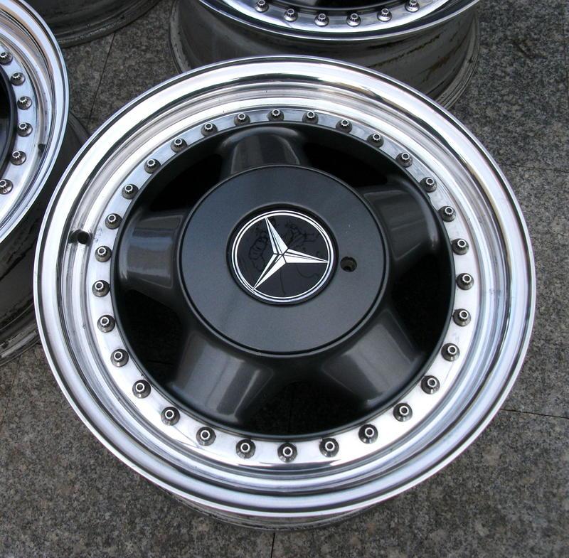 Original Mercedes oz Racing Alloy Wheels 5x112 7x15 W107 W123 W124