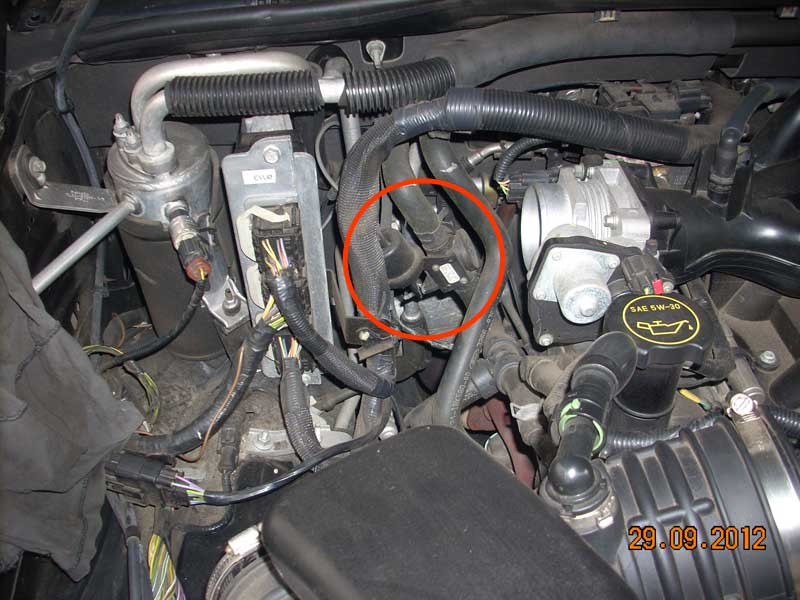 leaking heater control valve