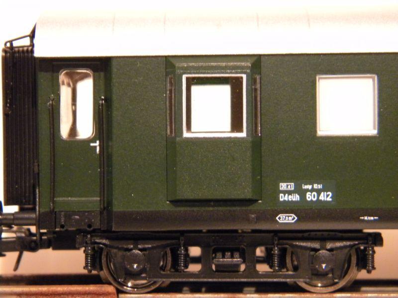Roco 4achsiger Spanten-Gepäckwagen Nr. 64262 12036066ky