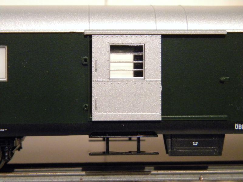 Roco 4achsiger Spanten-Gepäckwagen Nr. 64262 12036067dm