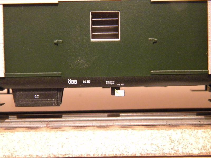 Roco 4achsiger Spanten-Gepäckwagen Nr. 64262 12036068vg