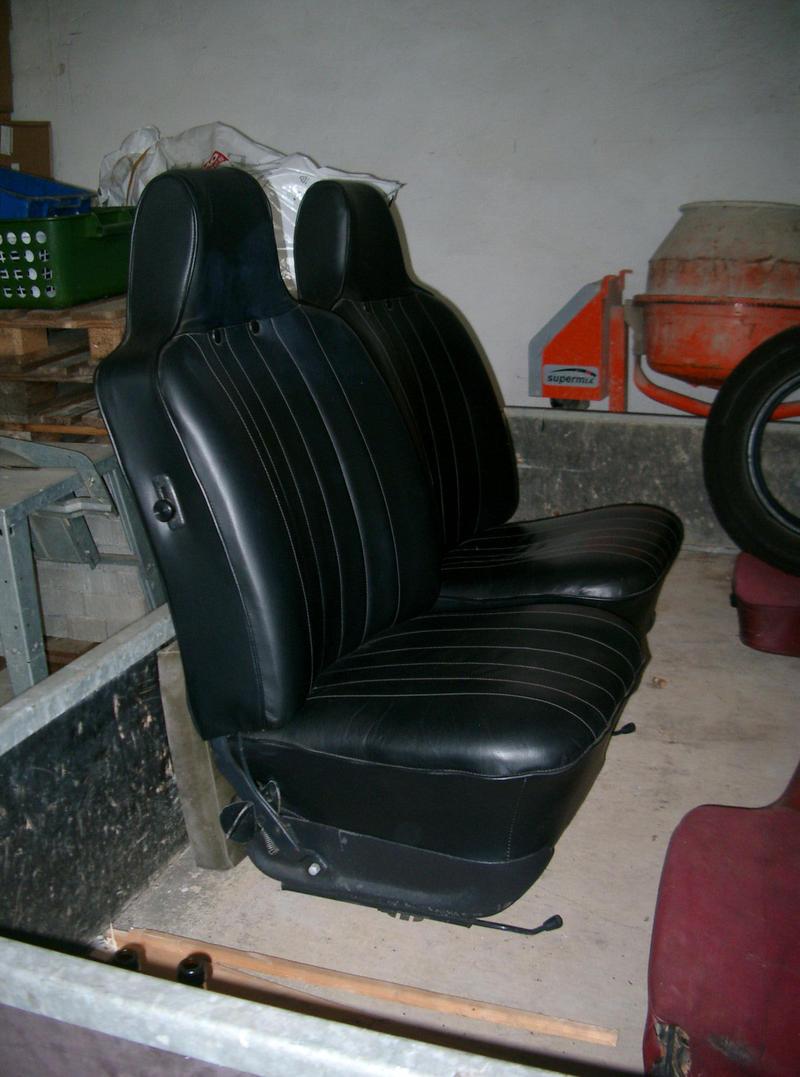 sitze f r k bel o k fer vw 181 und vw 82 k belteile. Black Bedroom Furniture Sets. Home Design Ideas