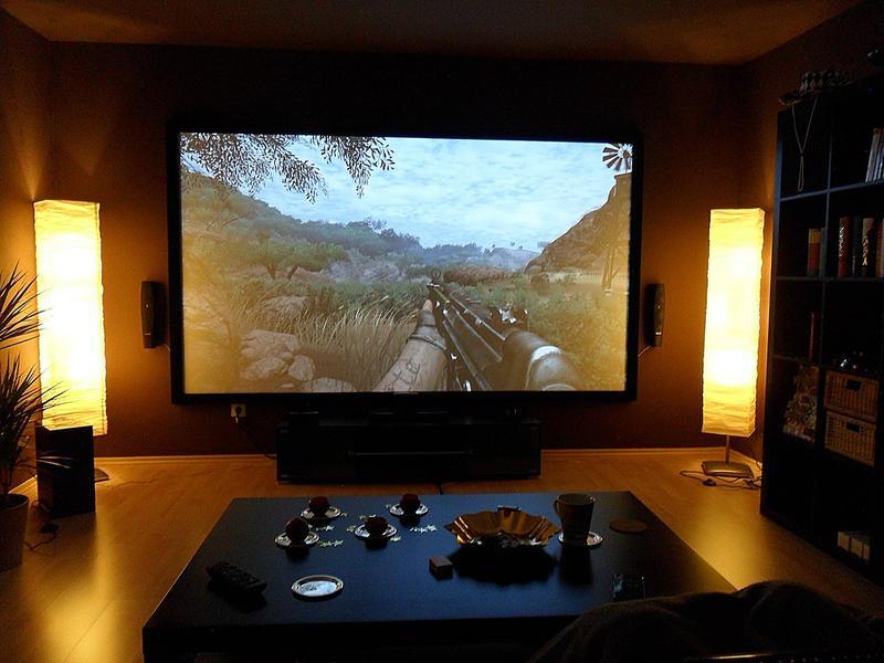 Mon salon cinema avec epson 9200w update avant d m nagement 30026797 s - Salon avec home cinema ...