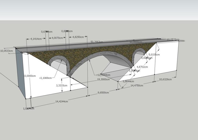 Modelleisenbahn H Brucken Selber Bauen Noch H Bruchstein Viadukt