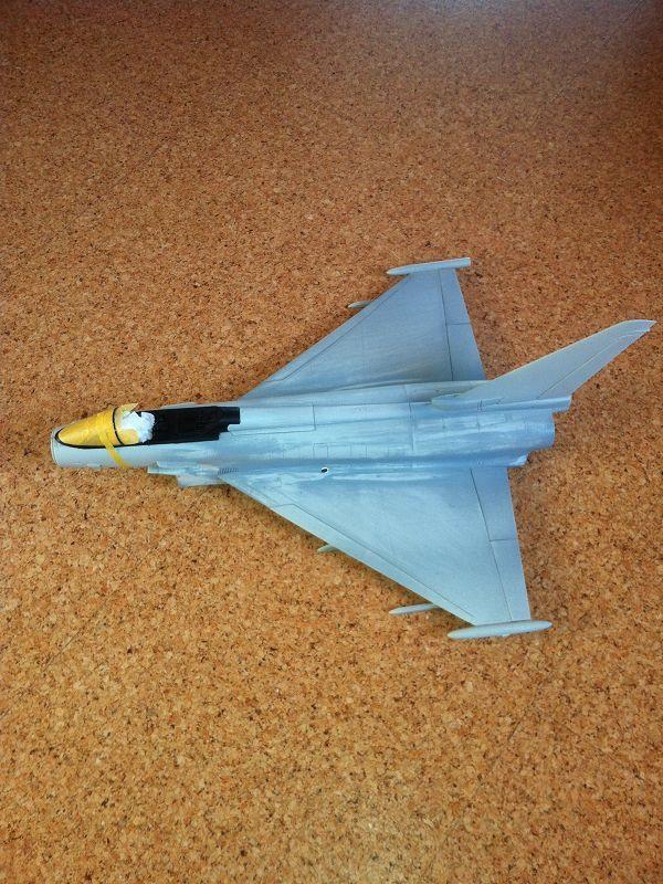 baubericht eurofighter typhoon 1:32 revell mit triebwerk - seite 5