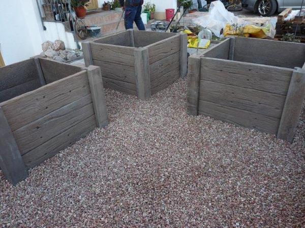 Beton Holzoptik Selber Machen ein vorgarten verwandelt sich fotodokumentation update mein