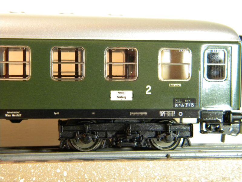 Märklin 0766-6 D-Zug Wagen ÖBB, 2 Klasse 12457677hv