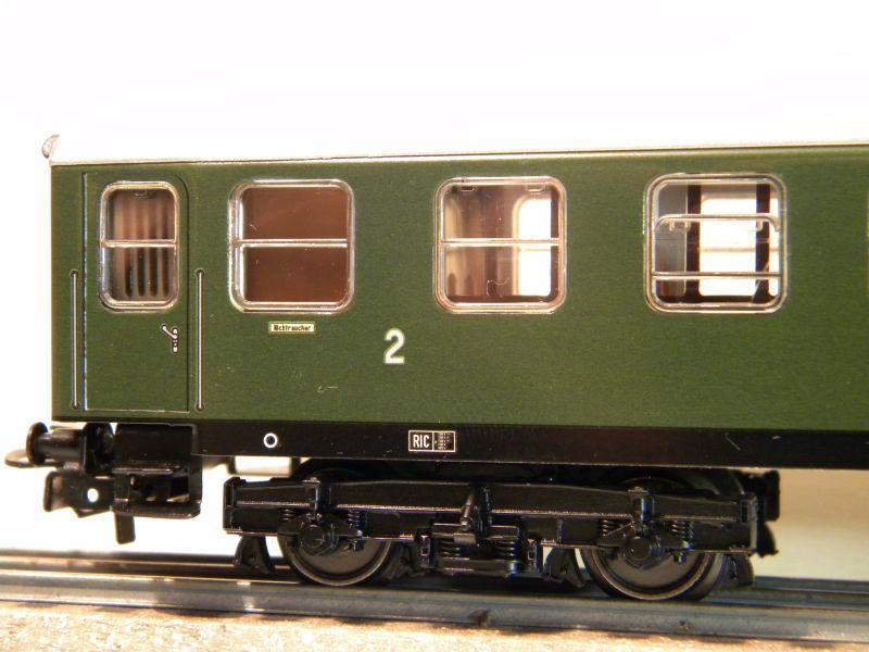 Märklin 0766-6 D-Zug Wagen ÖBB, 2 Klasse 12457678tt