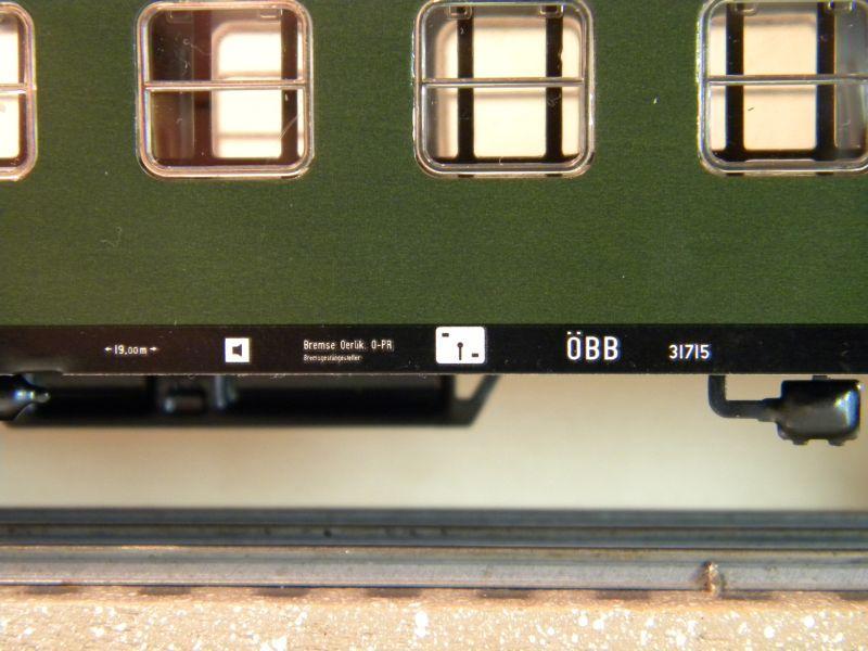 Märklin 0766-6 D-Zug Wagen ÖBB, 2 Klasse 12457679kr
