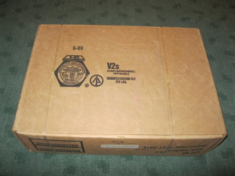 mre case dop 7 88 with extended shelf life. Black Bedroom Furniture Sets. Home Design Ideas