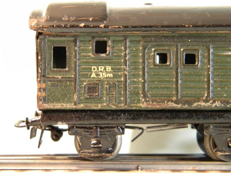 Märklin 390 Güterzug-Gepäckwagen 12527232hp