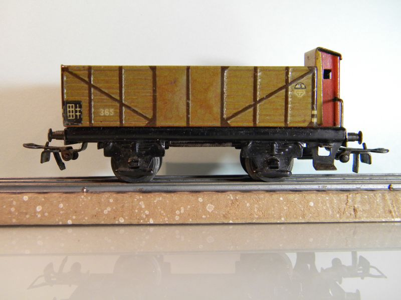 Märklin 371 Offener Güterwagen mit Bremserhaus 12527437dr