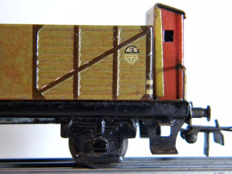 Märklin 371 Offener Güterwagen mit Bremserhaus 12527440yy