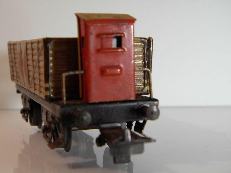 Märklin 371 Offener Güterwagen mit Bremserhaus 12527441nk